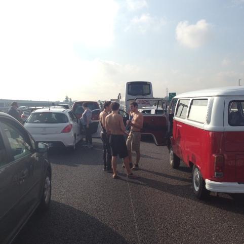 Music on the Autostrada